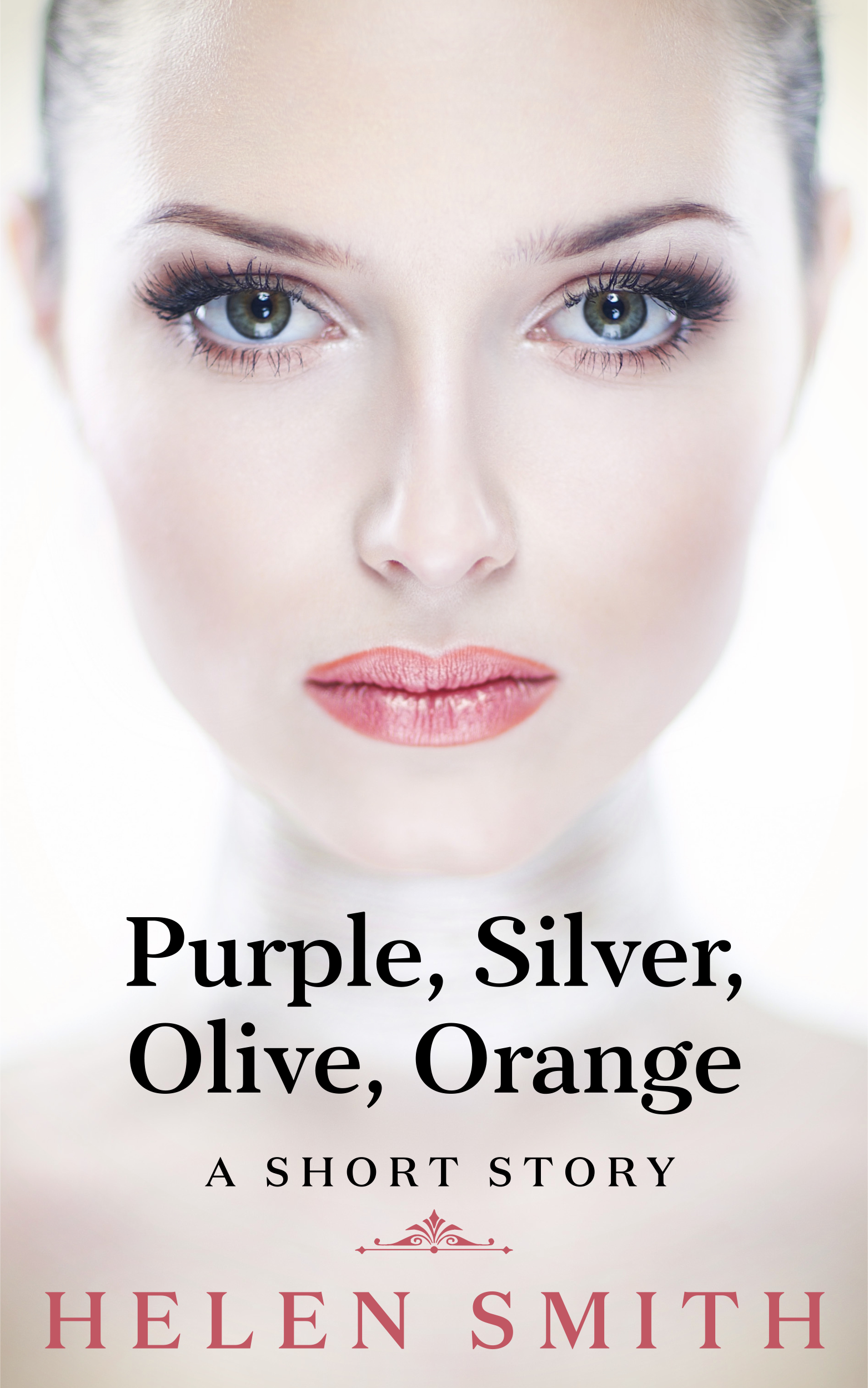 Purple Silver Olive Orange by Helen Smith